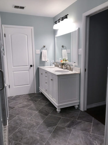 Bathroom Remodel - Longview, TX - Shelton Homes